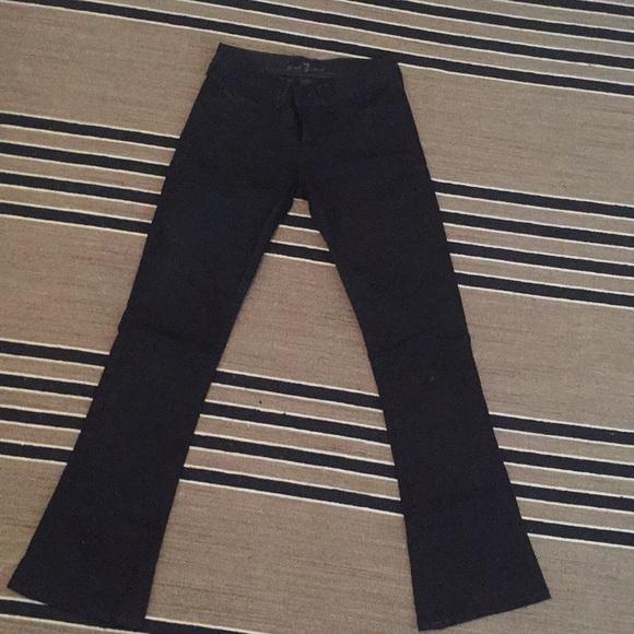 7 For All Mankind Denim - Black jeans
